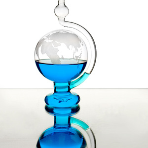 賽先生科學工廠|玻璃氣壓球(晴雨儀)-迷你版
