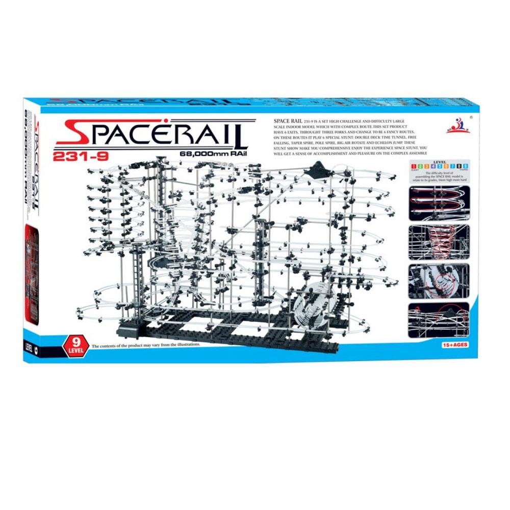 賽先生科學工廠 Spacerail曲速引擎/瘋狂雲霄飛車--等級9