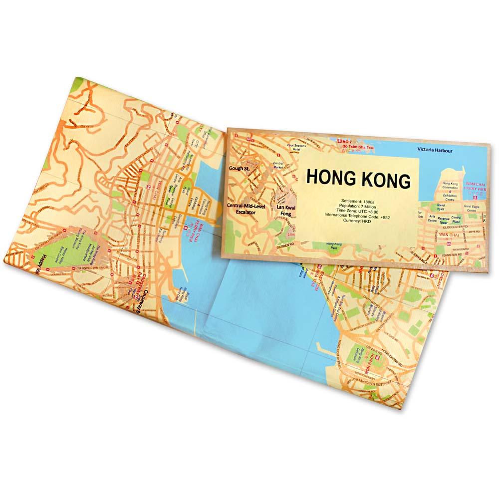 賽先生科學工廠|撕不破耐皺防水地圖 - 香港