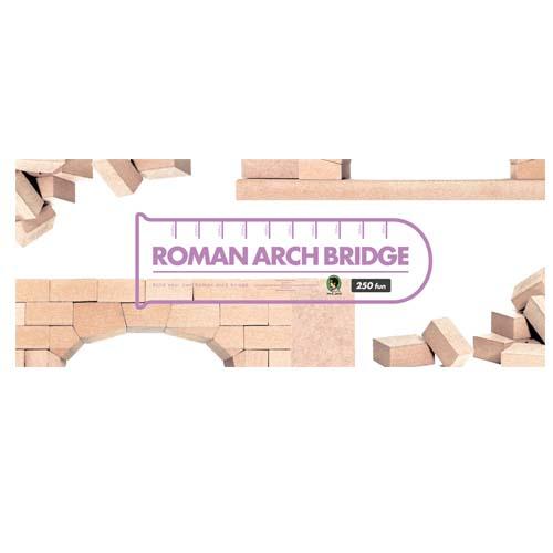 賽先生科學工廠 羅馬拱橋積木