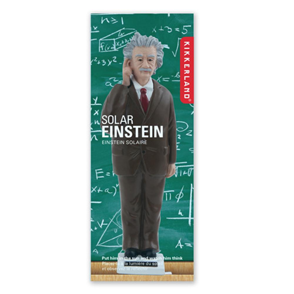 賽先生科學工廠 太陽能愛因斯坦搖手公仔