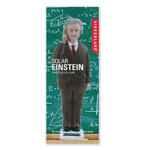 賽先生科學工廠|太陽能愛因斯坦搖手公仔