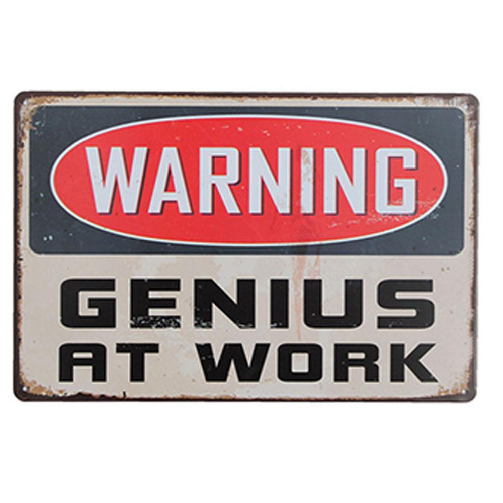 賽先生科學工廠|懷舊鐵皮告示牌