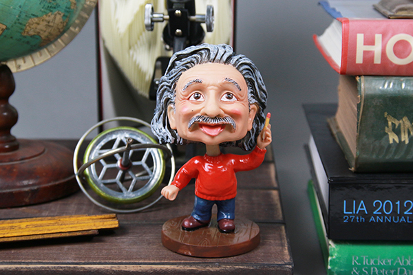 賽先生科學工廠|愛因斯坦搖頭公仔