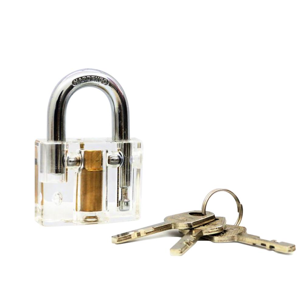 賽先生科學工廠 鎖匠的挑戰-透明結構掛鎖(葉片式)