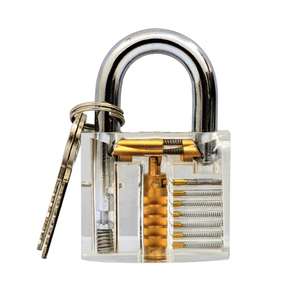 賽先生科學工廠 鎖匠的挑戰-透明結構掛鎖(彈珠式)