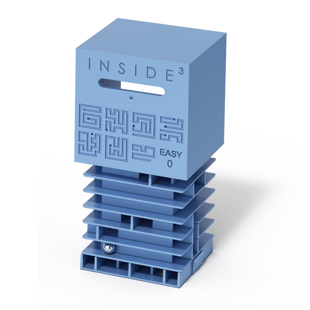 賽先生科學工廠 Inside3 3D迷走方塊-初級