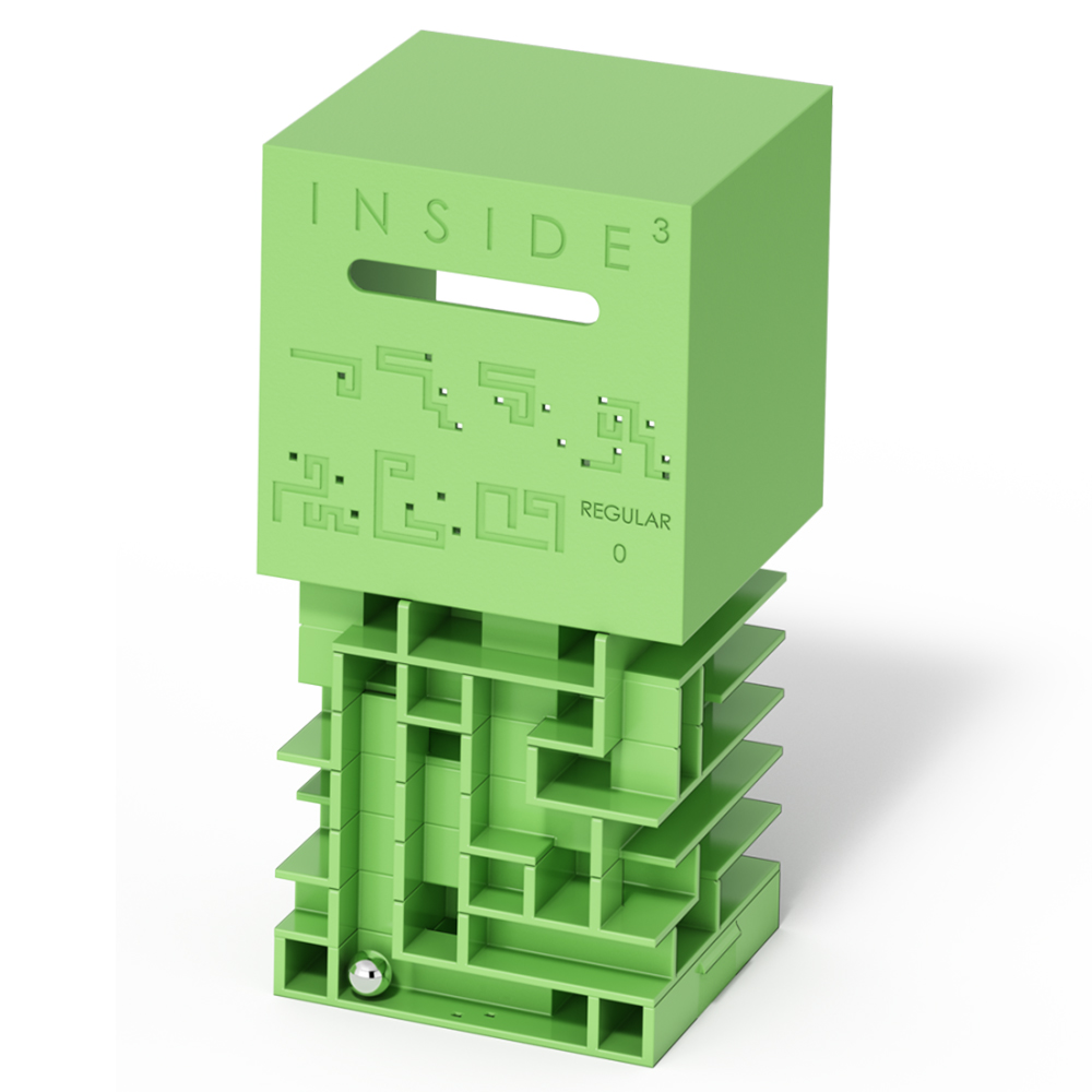 賽先生科學工廠 Inside3 3D迷走方塊-中級