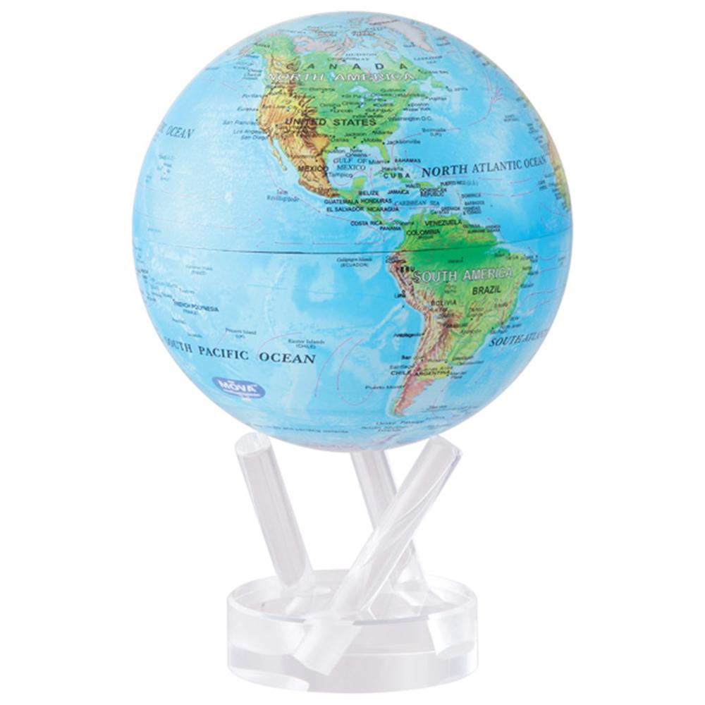 賽先生科學工廠|MOVA光能地球儀-洋流藍(小/4.5吋)