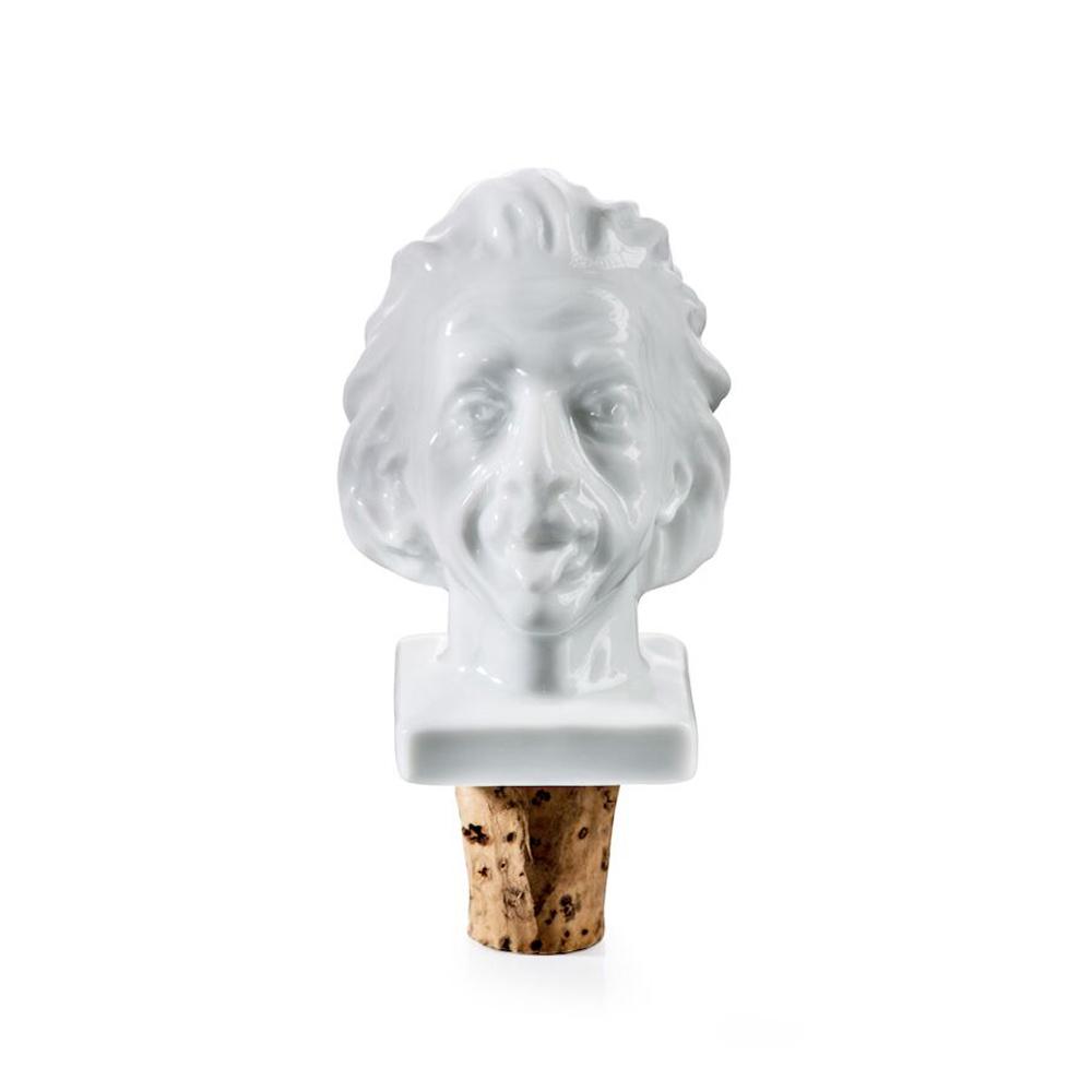 賽先生科學工廠 愛因斯坦陶瓷酒瓶塞