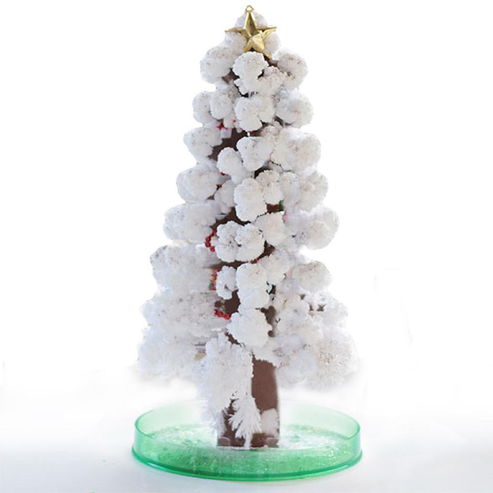 賽先生科學工廠 紙樹開花-巨大聖誕樹(白色)