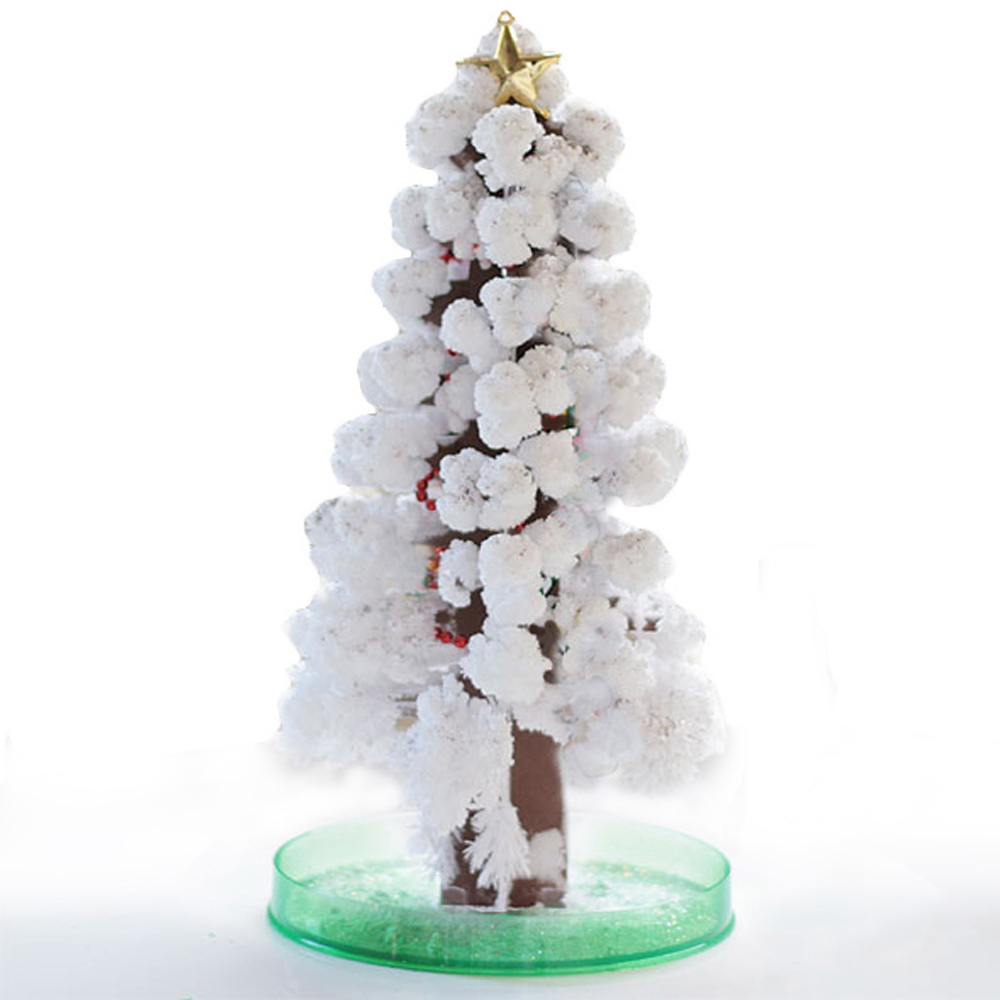 賽先生科學工廠 | 紙樹開花-巨大聖誕樹(白色)