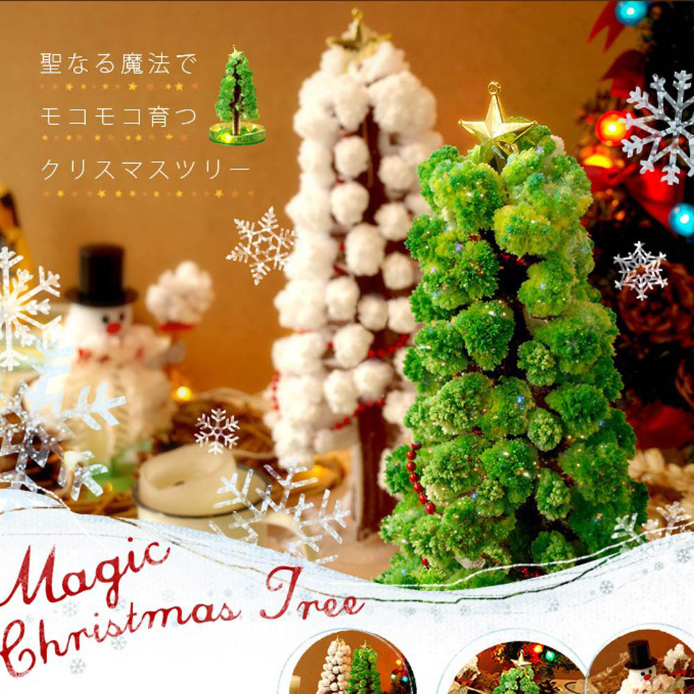 賽先生科學工廠|紙樹開花-巨大聖誕樹(白色)