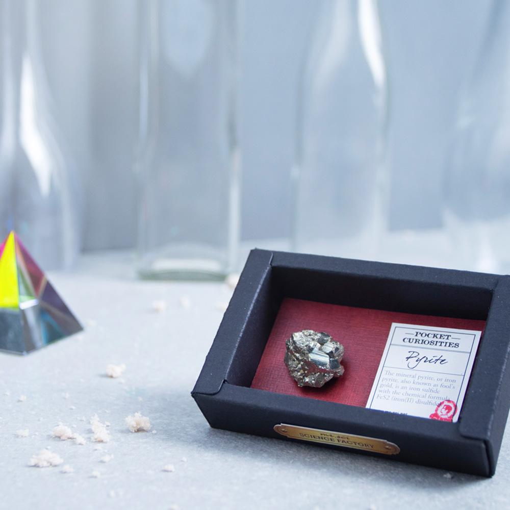 賽先生科學工廠|口袋標本箱-礦石系列兩入(六款隨機出貨)