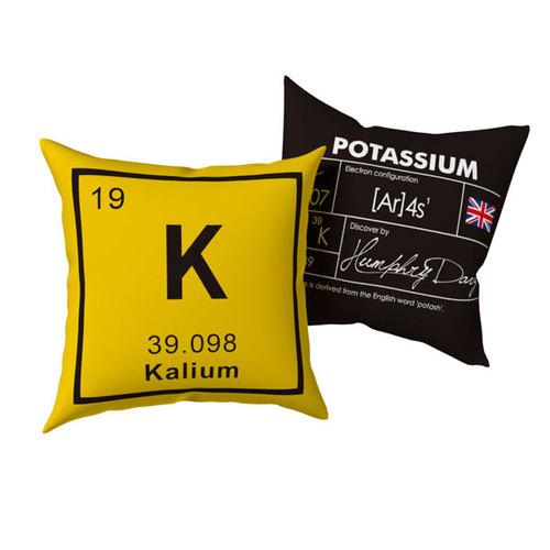賽先生科學工廠|O K 化學元素雙面抱枕 (1組兩個)
