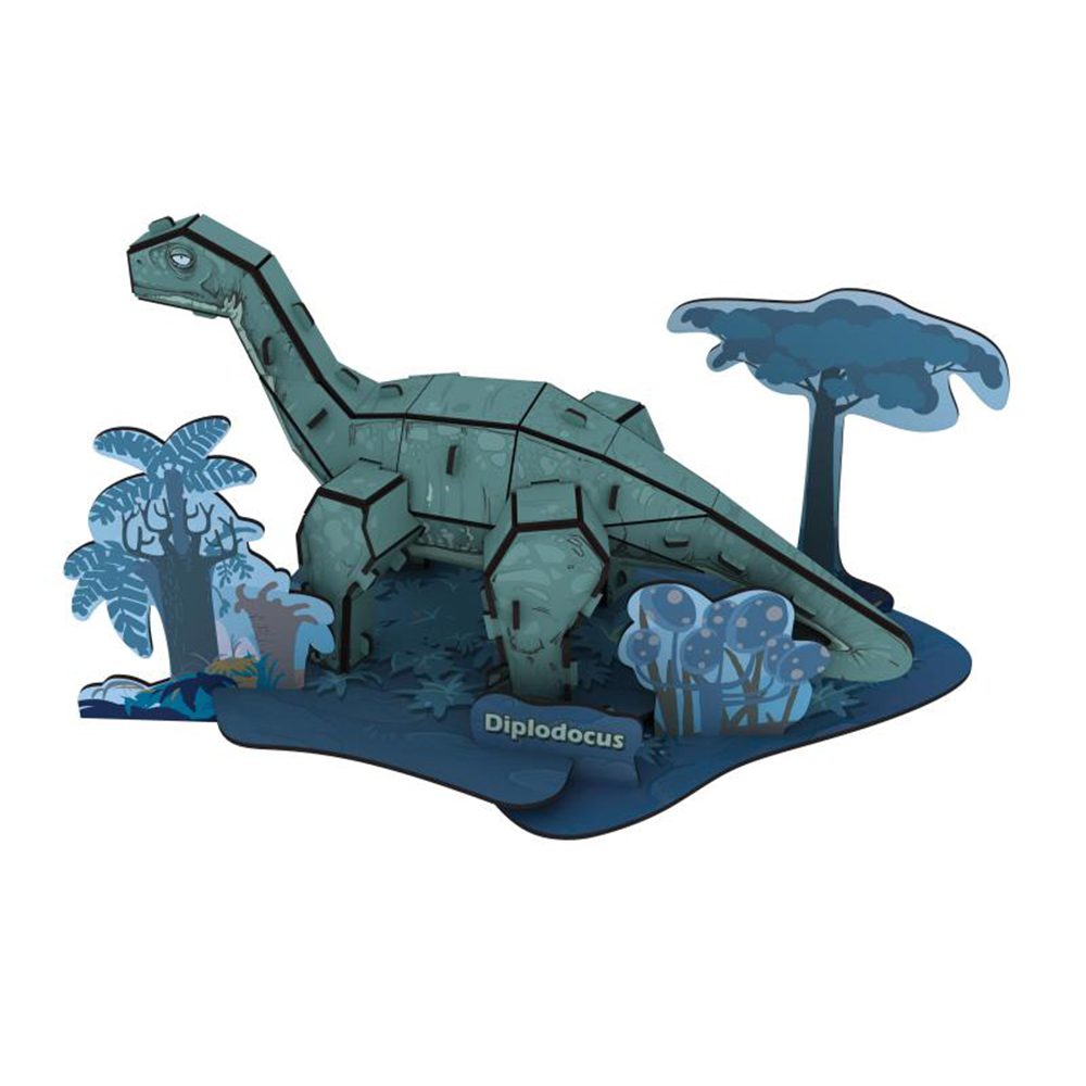 賽先生科學工廠 3D立體拼圖:世紀恐龍系列(五款)