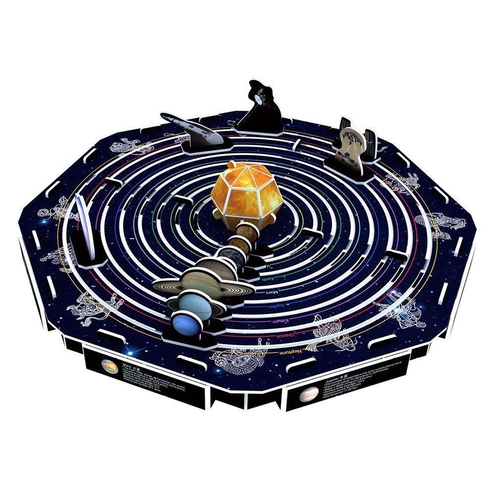 賽先生科學工廠 | 3D立體拼圖:太空宇航系列(三款)