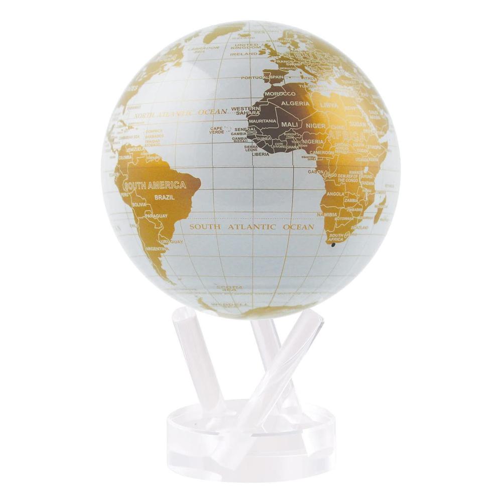 賽先生科學工廠 | MOVA光能地球儀-白金(小/4.5吋)