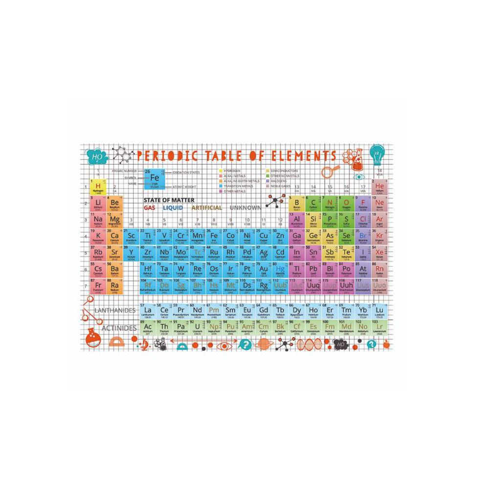 賽先生科學工廠|元素週期表試管拼圖