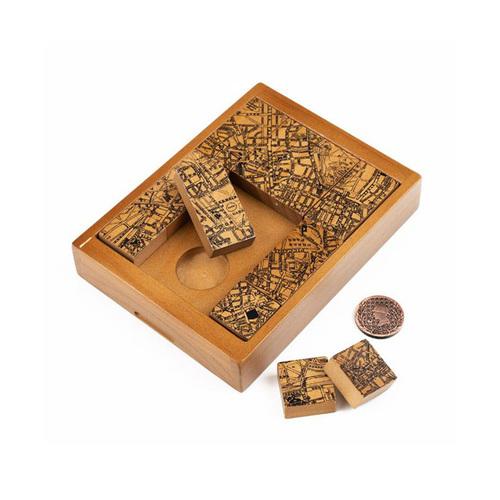 賽先生科學工廠 福爾摩斯-方塊解謎拼圖(祕密會社)