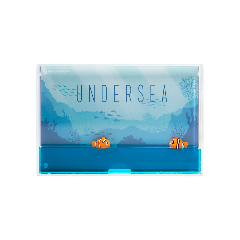 賽先生科學工廠|海洋生態漂浮相框 (2款)