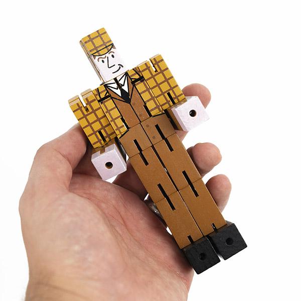 賽先生科學工廠|福爾摩斯-紳士變形積木