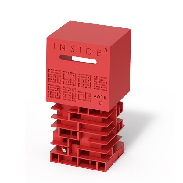 賽先生科學工廠 Inside3 3D迷走方塊-高級
