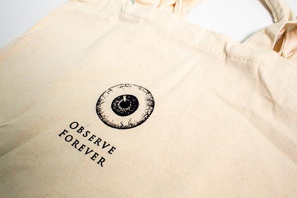 賽先生科學工廠|Forever標本二用布包 / Observe Forever 眼球