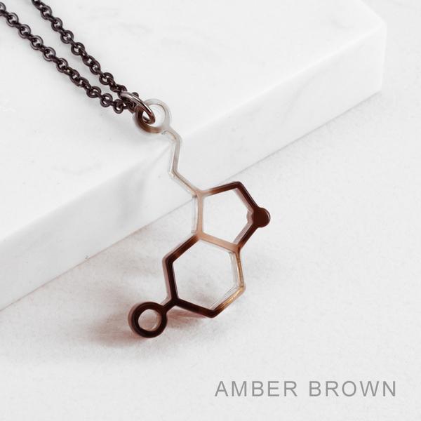 賽先生科學工廠|New Sexy 分子項鍊-血清素 (5色)