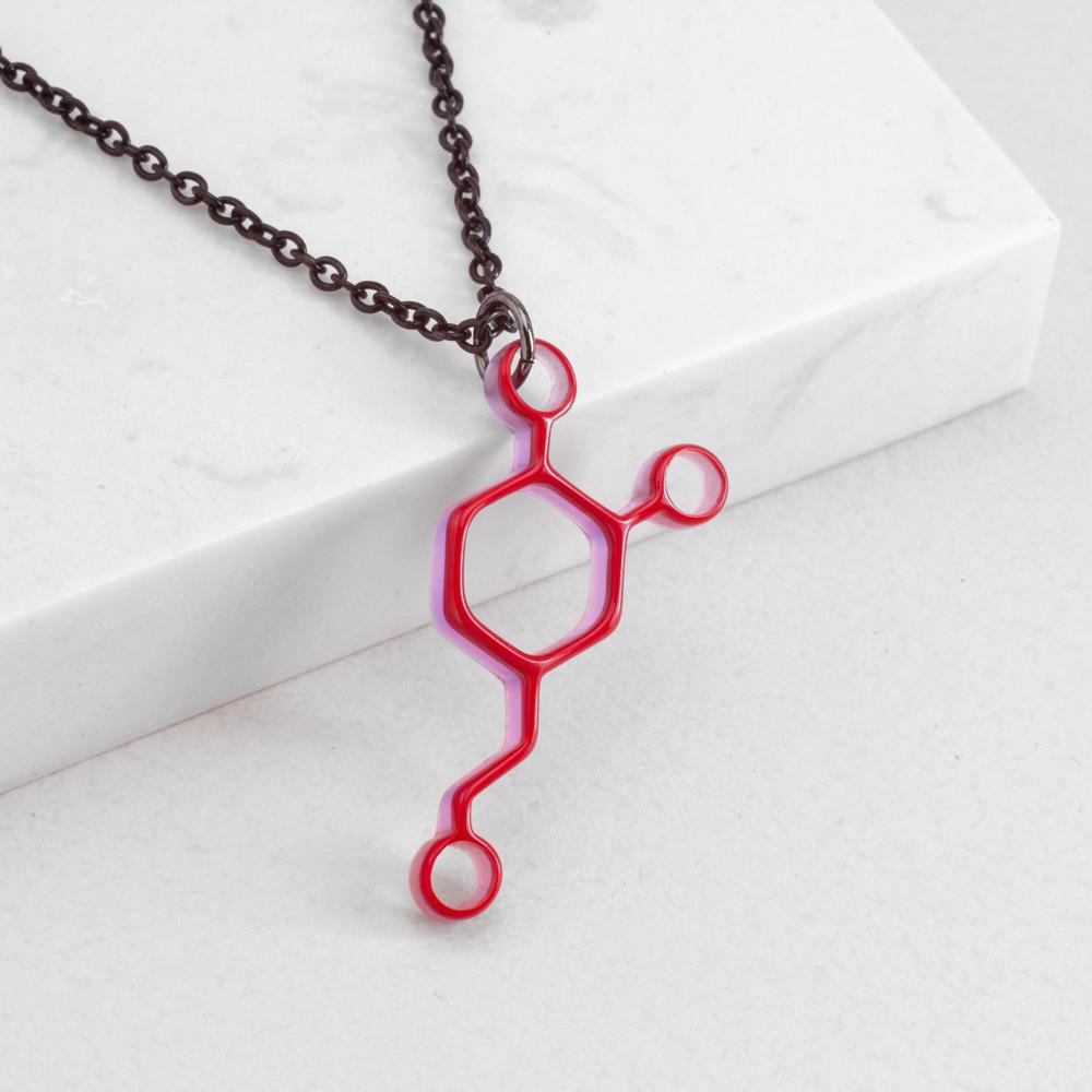 賽先生科學工廠 New Sexy 分子項鍊-多巴胺 (5色)