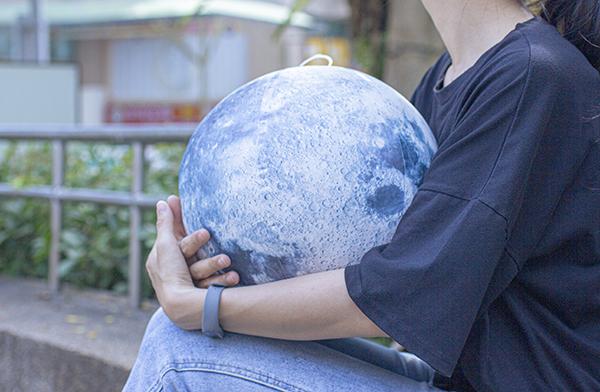 賽先生科學工廠 地球與月亮-充氣星球套組 (真實比例縮小)