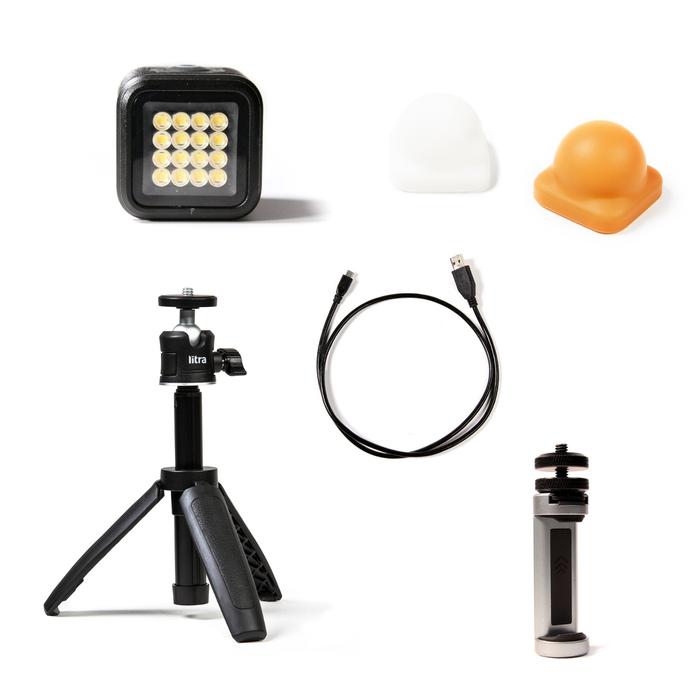 Litra|LitraTorch 2.0™ 手機直播套件 (專業級直播視訊補光燈)