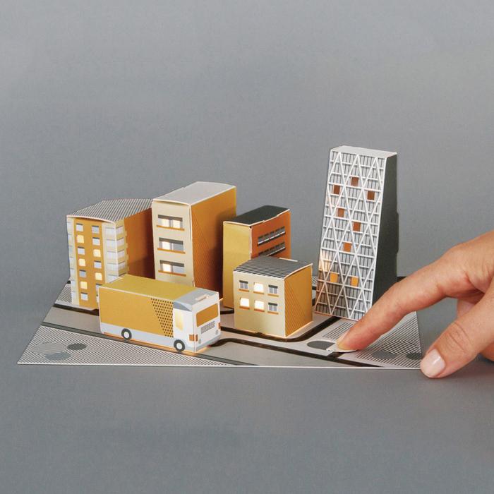 Electric Paint Circuit kit 導電城市套組