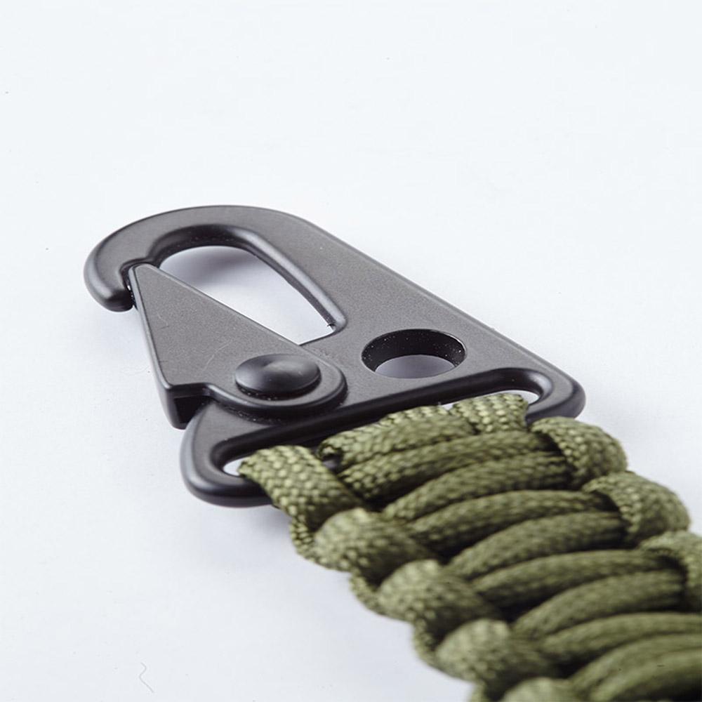 Bomber & Company|綠色傘繩鑰匙圈