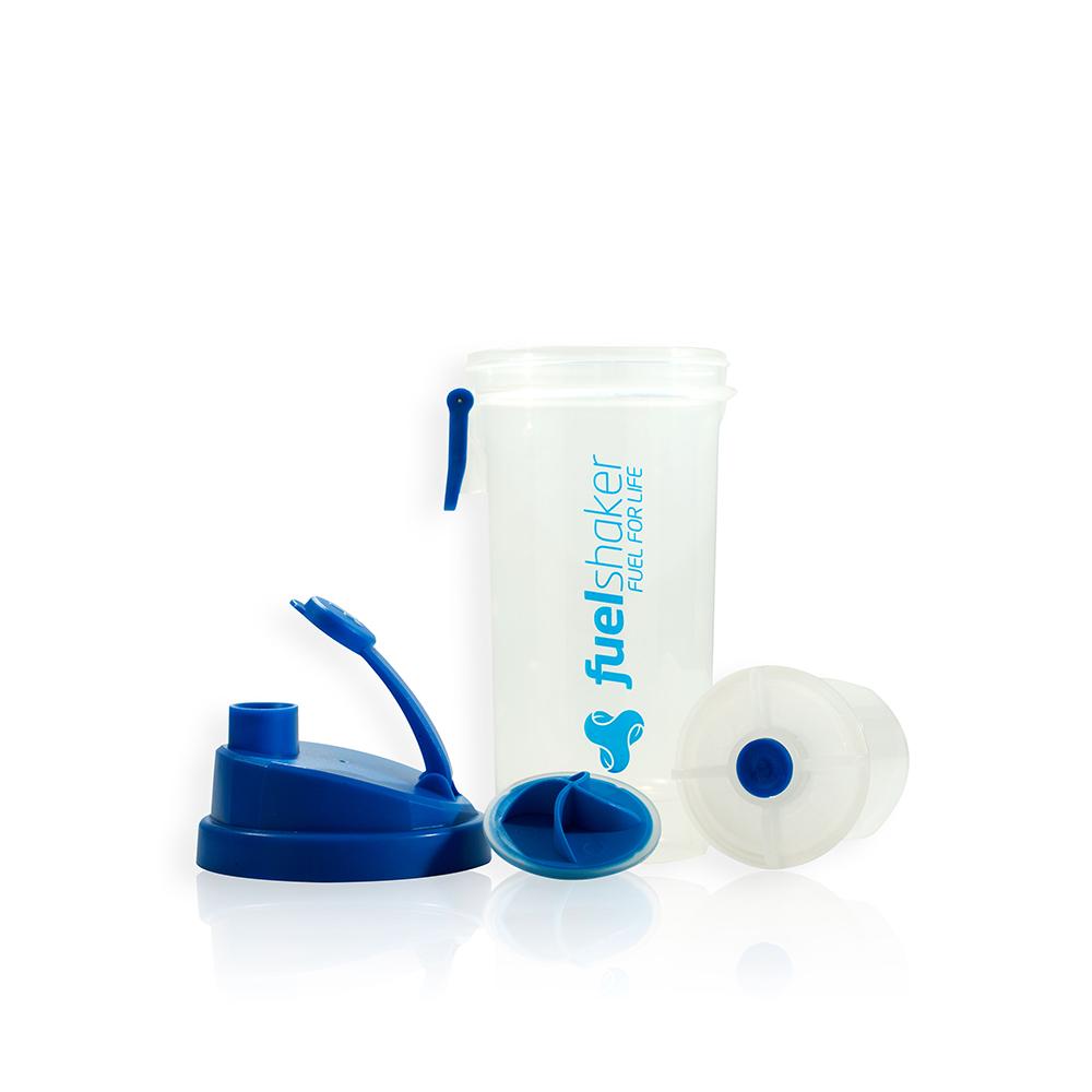 Fuelshaker|運動能量手搖杯 - 經典藍色