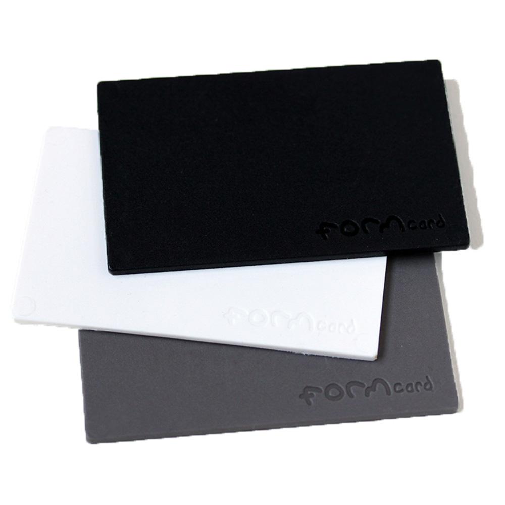 FORMcard|多功能隨身塑形凝土 - 黑/灰/白