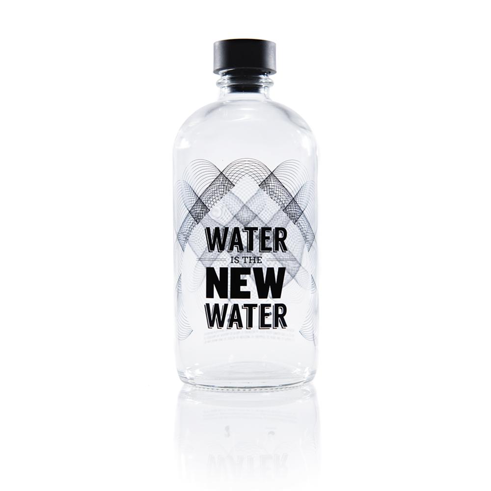 Aquaovo|LAB [O] 水系列玻璃水瓶-New Water
