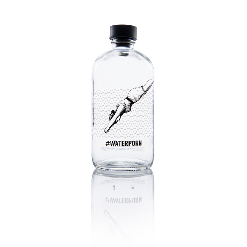 Aquaovo LAB [O] 水系列玻璃水瓶-Waterporn