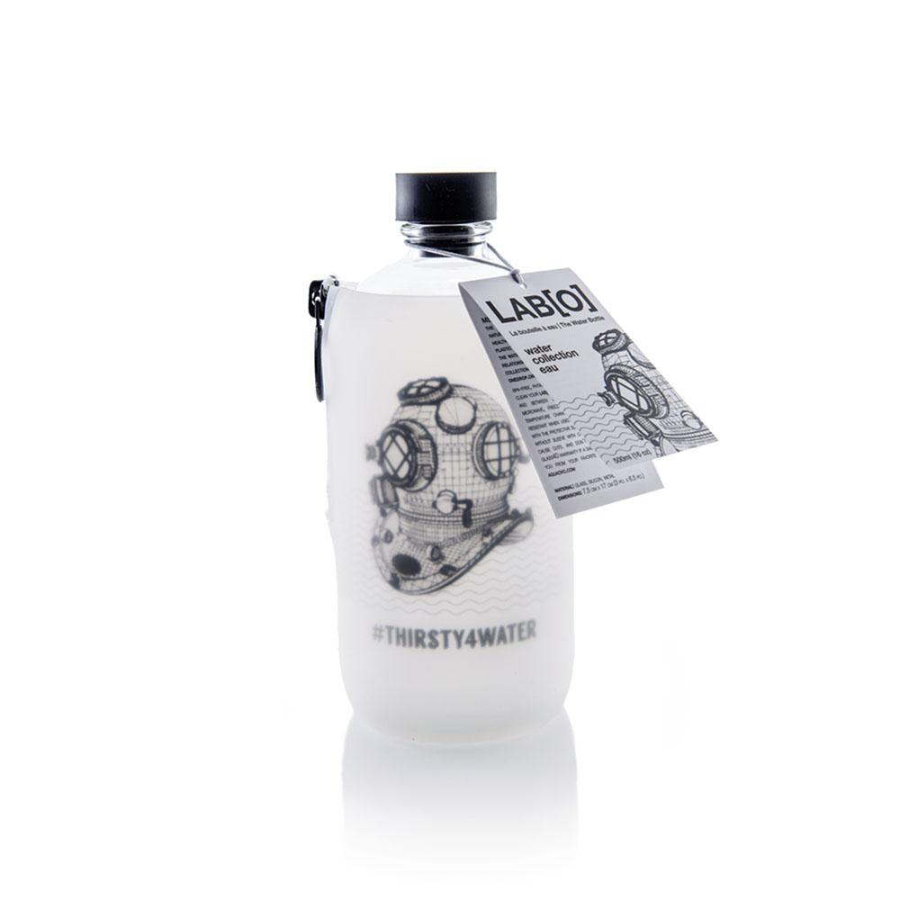 Aquaovo|LAB [O] 水系列玻璃水瓶-Thirsty