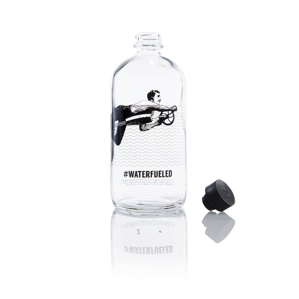Aquaovo|LAB [O] 水系列玻璃水瓶-WaterFueled
