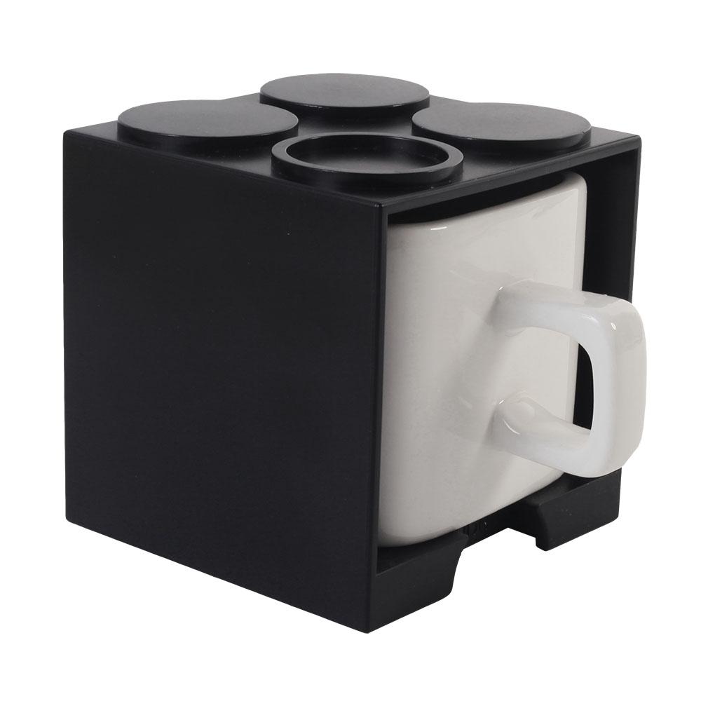 Gattola|可愛上班休閒時尚 馬克杯 小 - 黑色