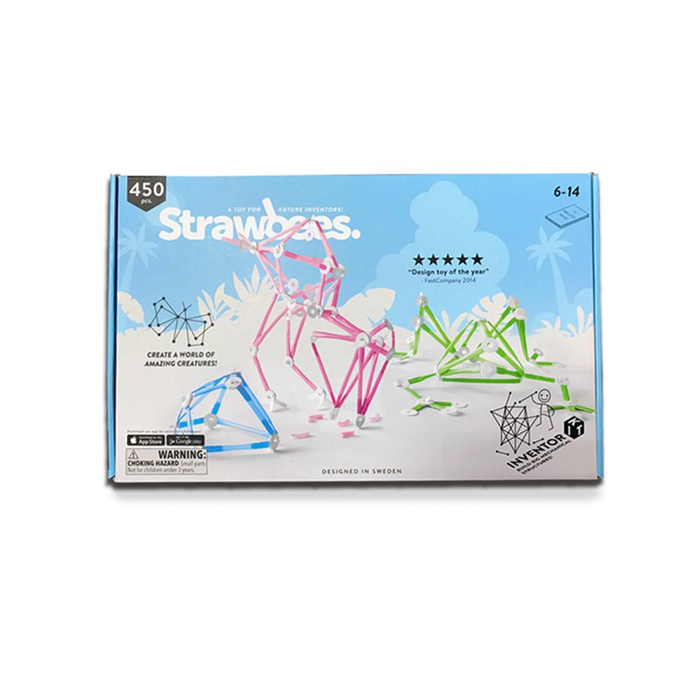 Strawbees|多樣巧拼創意吸管 - 發明家組合