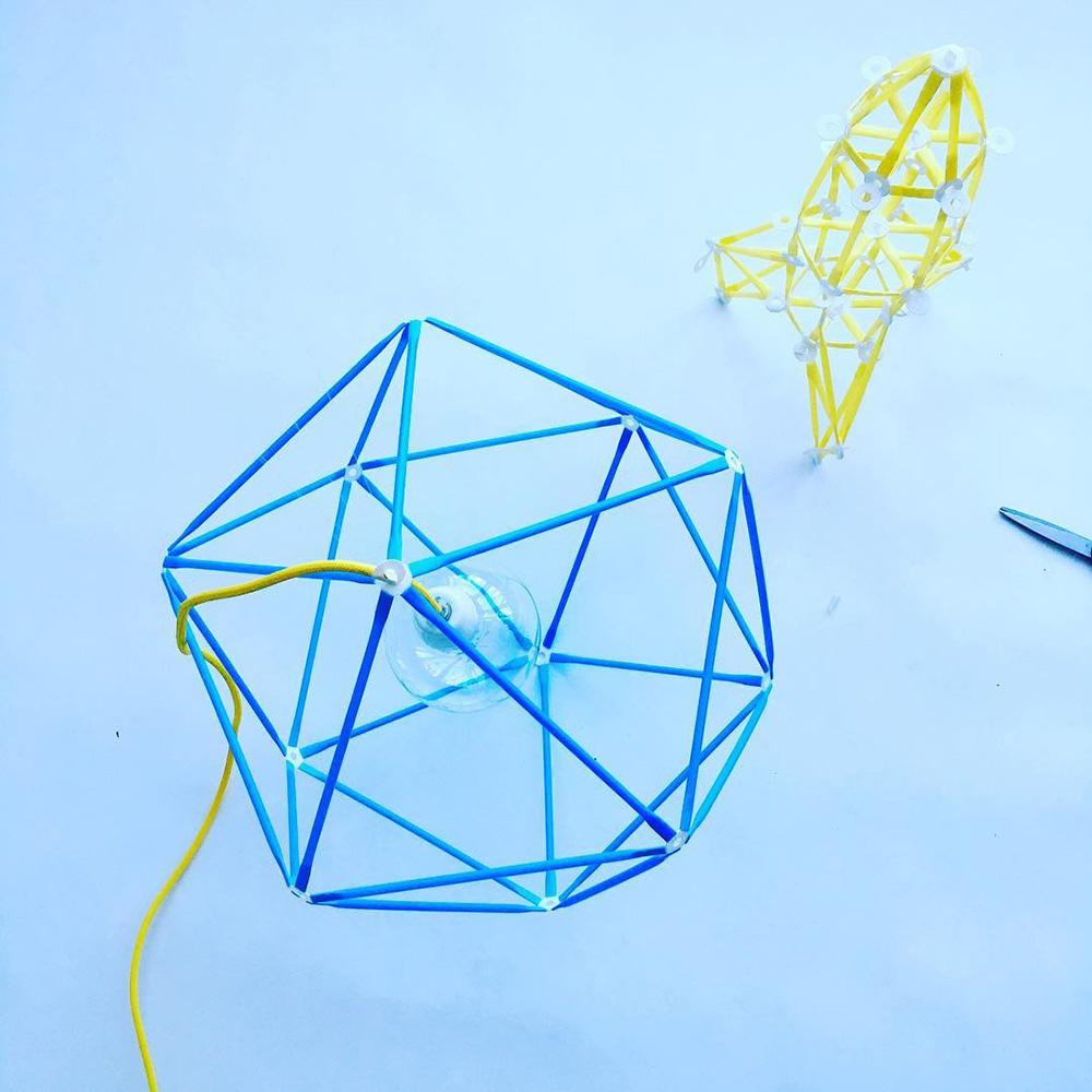 Strawbees 多樣巧拼創意吸管 - 自造家組合