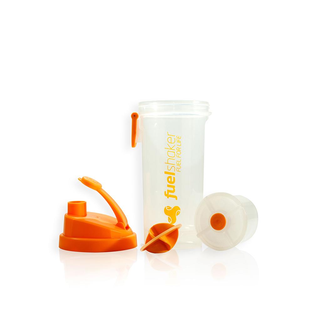 Fuelshaker|運動能量手搖杯 - 經典橘色