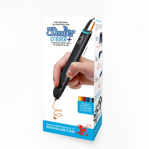 3Doodler Create PLUS 3D列印筆+贈送3D列印筆工作站或踏板(2者1)