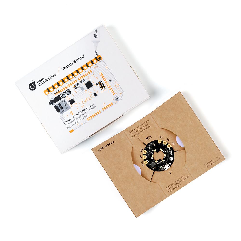 Bare Conductive|DIY 導電燈泡模組
