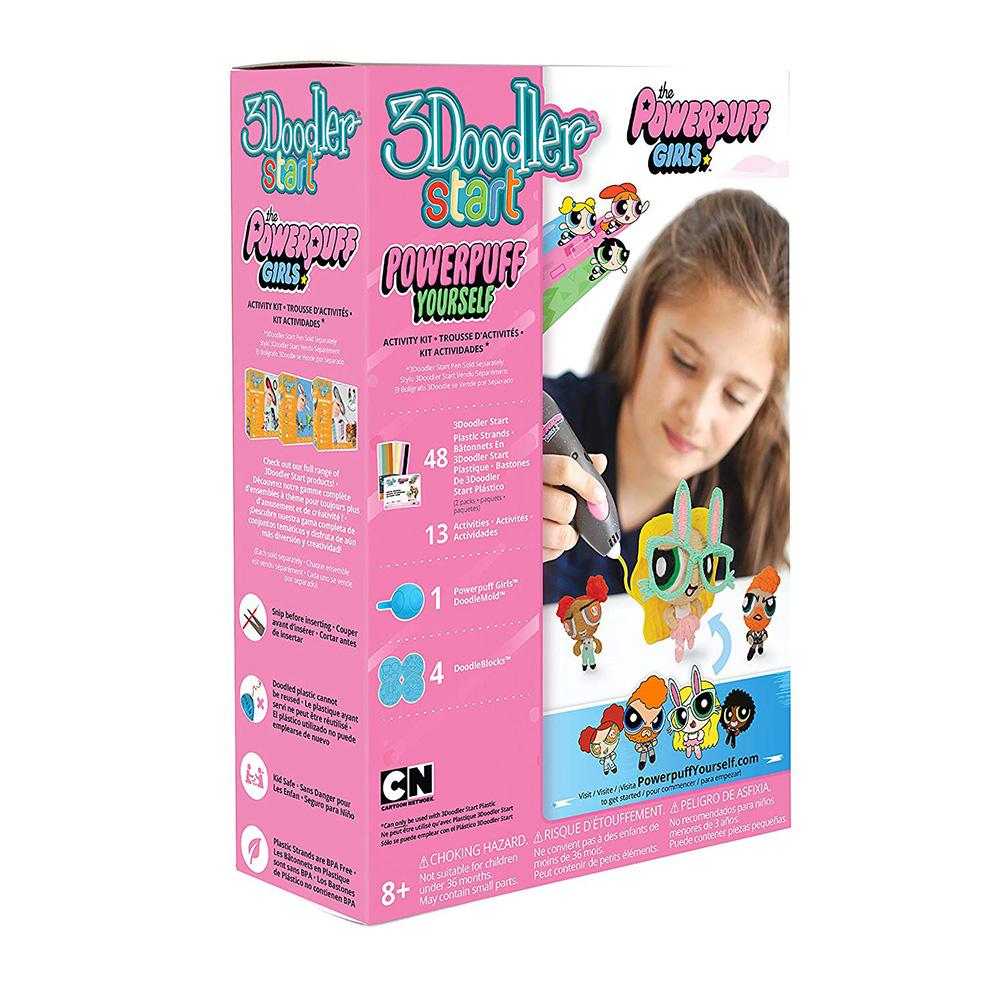 3Doodler|Start 3D列印筆 飛天小女警套件