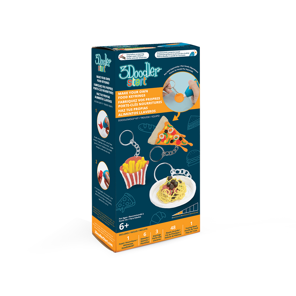 3Doodler|Start 3D列印筆 迷你食物套件