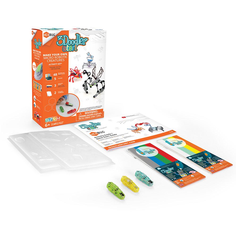 3Doodler|Start 3D列印筆 跳跳昆蟲機器人套件