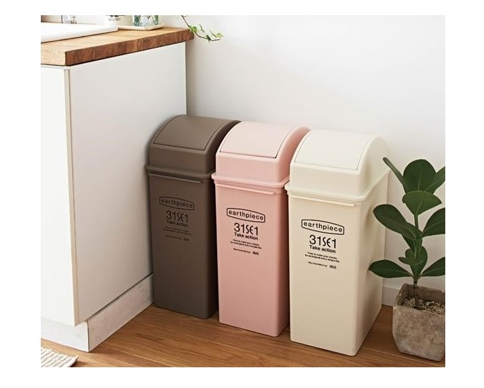 (複製)LIKE IT|earthpiece 前開式可堆疊垃圾桶25L - 共四色